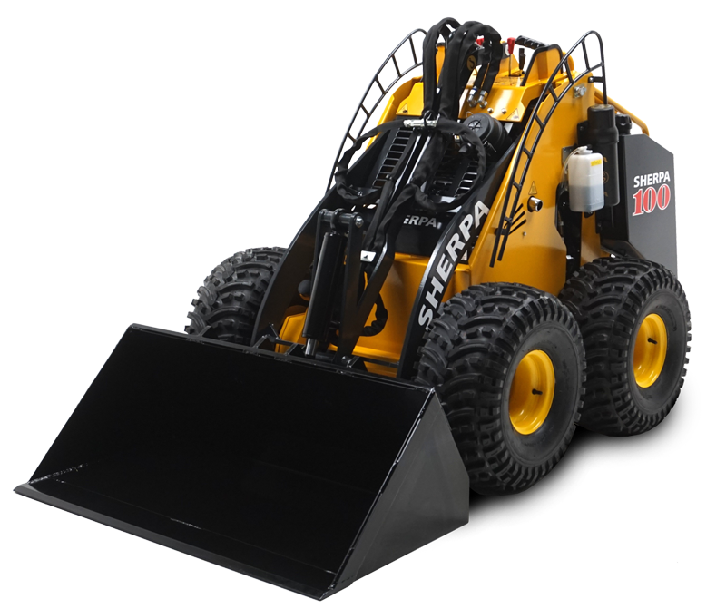 sherpa 100 mini loader