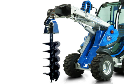 multione auger earth drill drive unit
