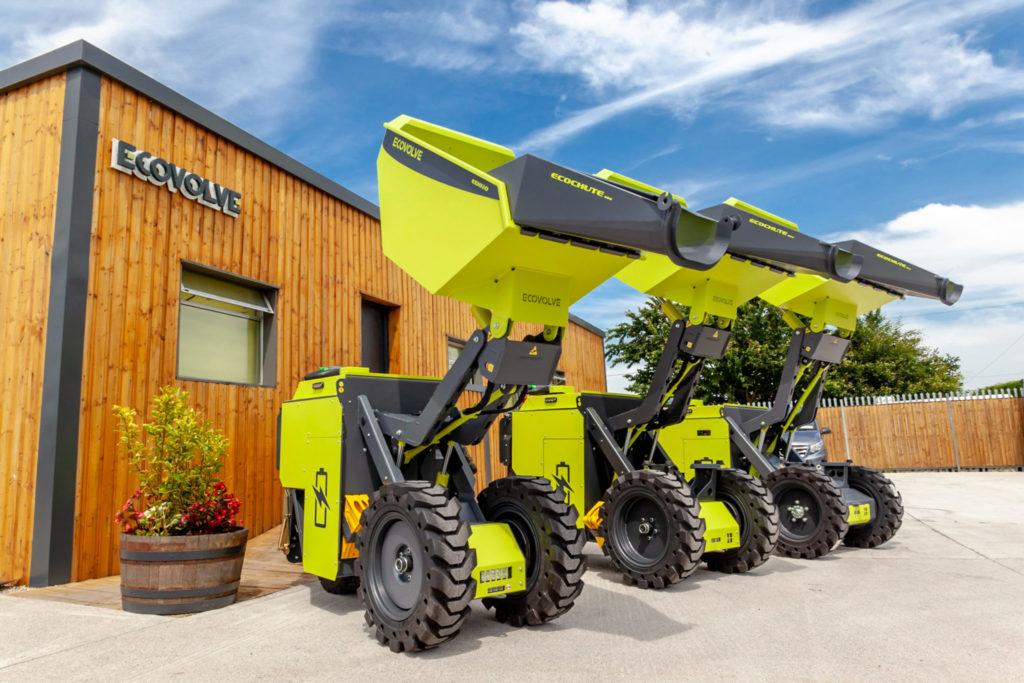 Ecovolve Electric Dumper range