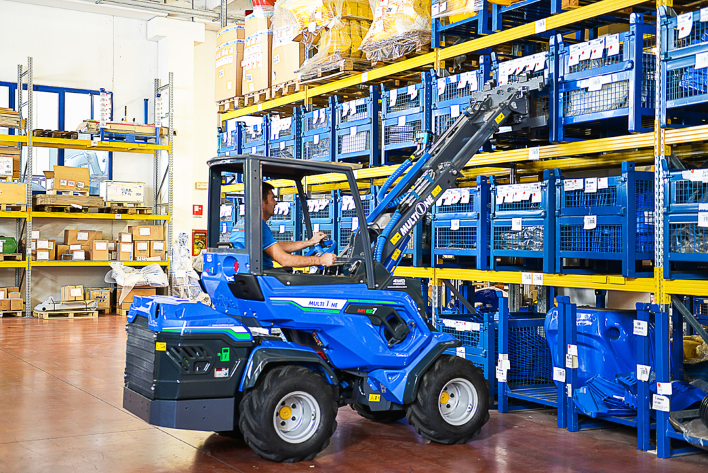 Zero Emission MultiOne EZ Series Electric Compact Loader