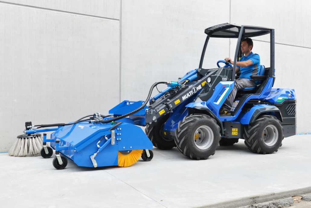 MultiOne EZ Series Battery Electric MultiFunction Loader