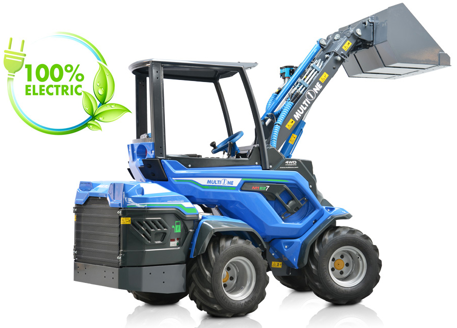 Multione Full Electric Compact Loader