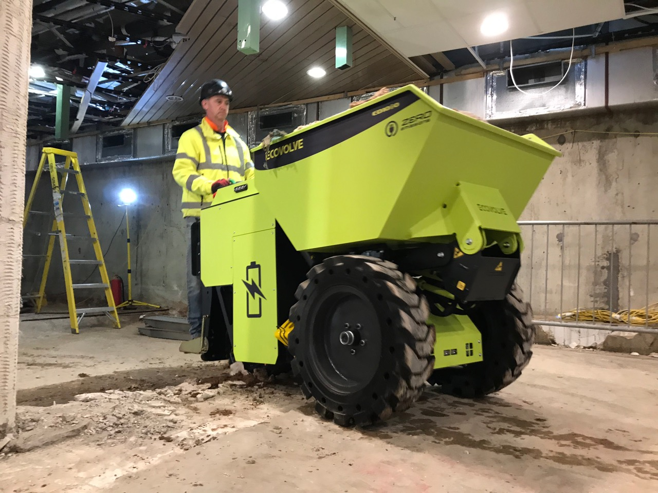 Ecovolve Electric High Tipping Dumper