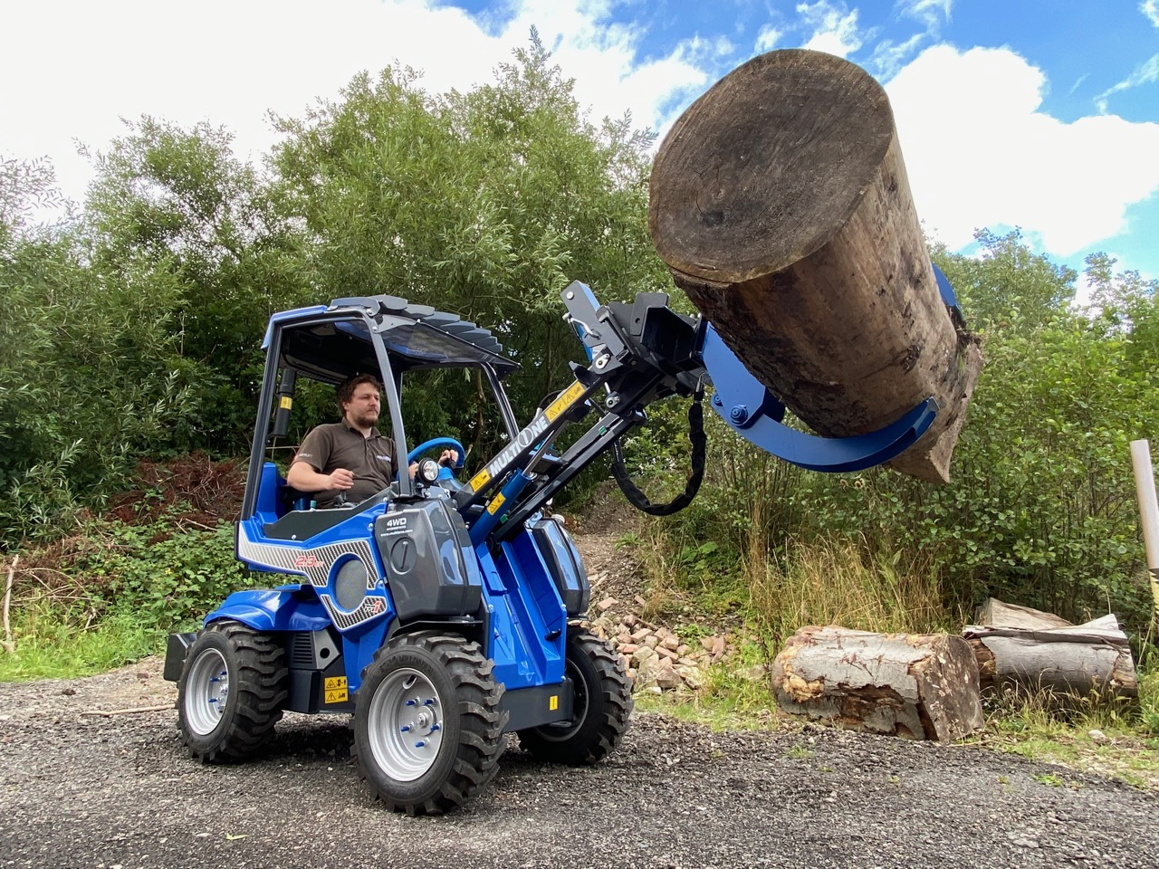 Mighty Lifting Power of the MultiOne 2.3EFi Mini loader