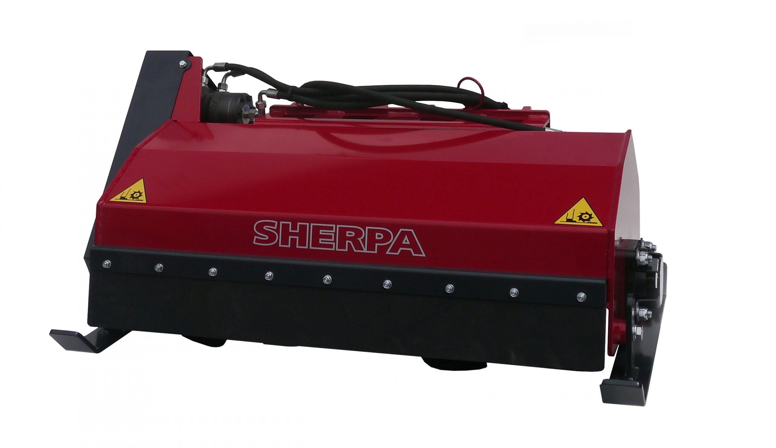Rotary Tiller for soil preparation for Sherpa Mini Loaders