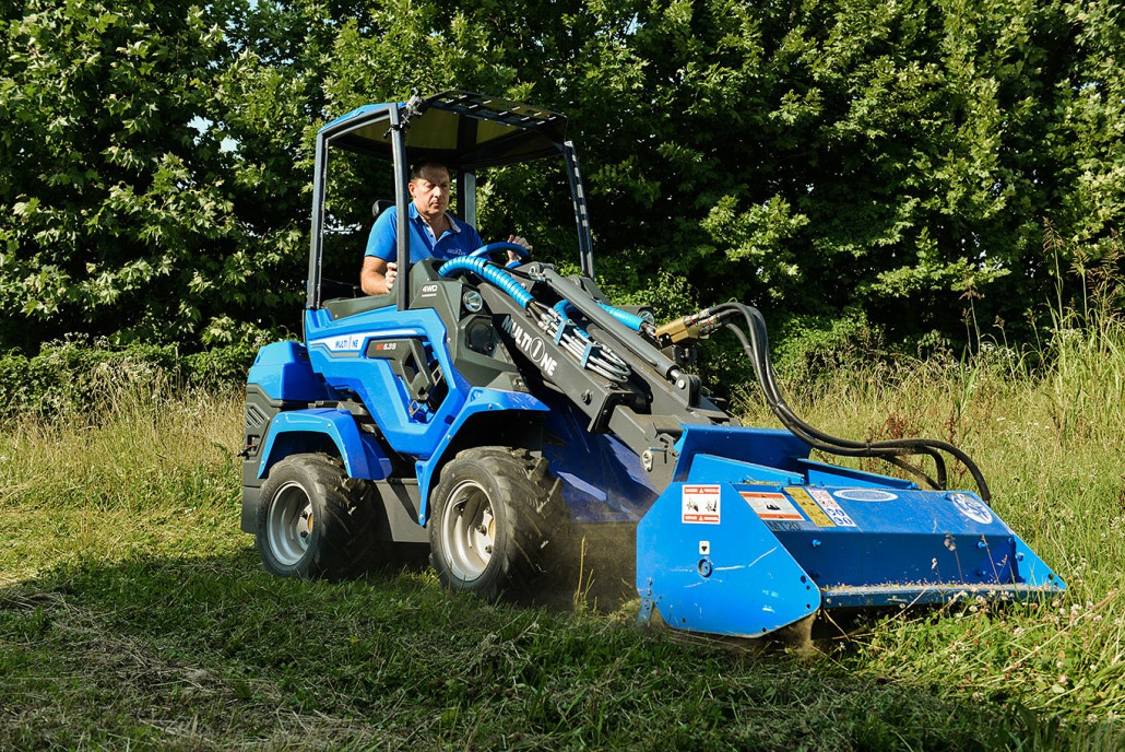 MultiOne 6 Series Mini Articulated Loader
