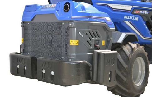 rear weights kit for MultiOne Loader